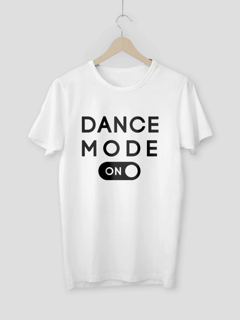 Dance Mode White Crop