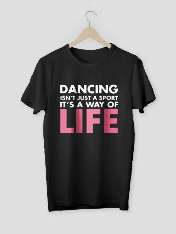 Dancer Way Of Life Mockup Black Crop