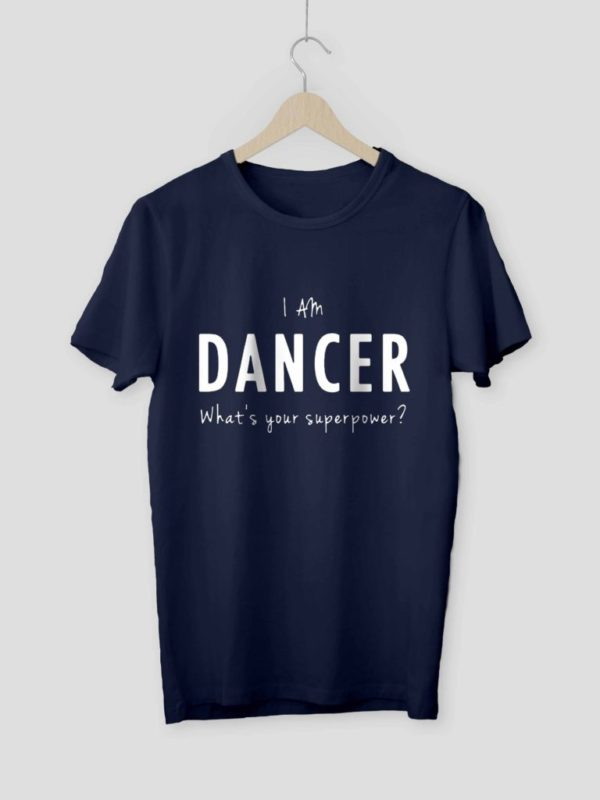 Im am Dancer Navy Blue Crop