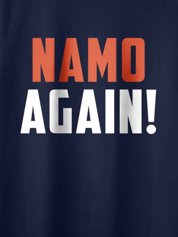 Namo Again Navy Blue Crop Design