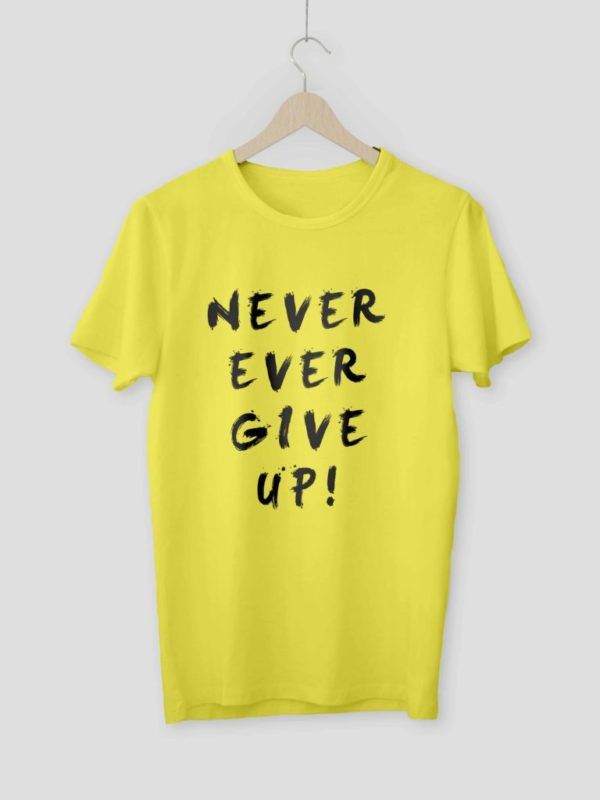 Never Ever Give Up Yellow Crop
