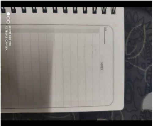 Dexter Erasable & Reusable Eco-Friendly Notebook + Pen photo review