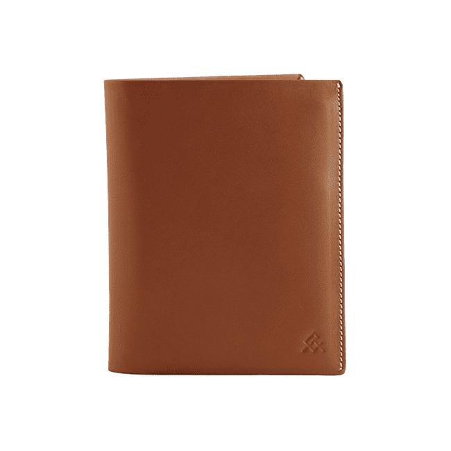 05 Tan Voyager Leather Wallet Anti Loss Electronic Smart Tech